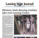 Lansing State Journal Newspaper Article 2016