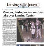 Lansing State Journal Newspaper Article 2016