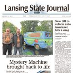 Lansing State Journal Newspaper Article 2017